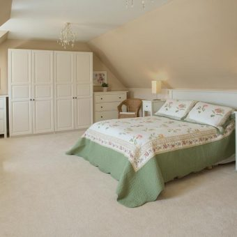 Cosy cottage bedrooms