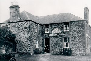 Historic hotels in scottish borders
