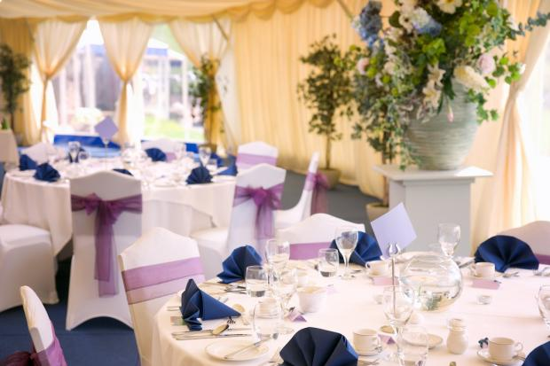 Marquee wedding venues near Edinburgh